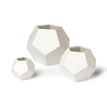 """SKU #: DWL4772 Faceted White Vase $15.00  price varies with options below Select Size: 4"""" H x 4.5"""" W x 4.5"""" D"""