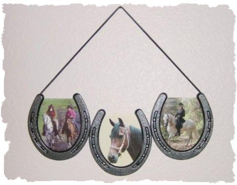 horseshoe picture frames - Google Search