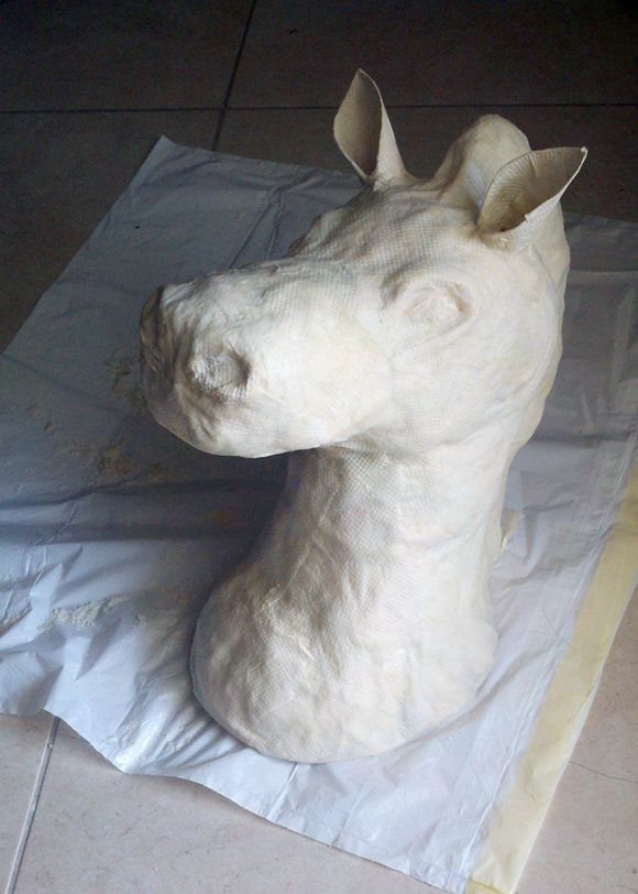 @ Kristen Dutton Let's make these!!!! DIY Tutorial – Paper Mache Animal Heads | A Sharper Focus