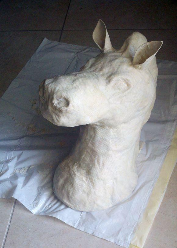 @ Kristen Dutton Let's make these!!!! DIY Tutorial – Paper Mache Animal Heads   A Sharper Focus