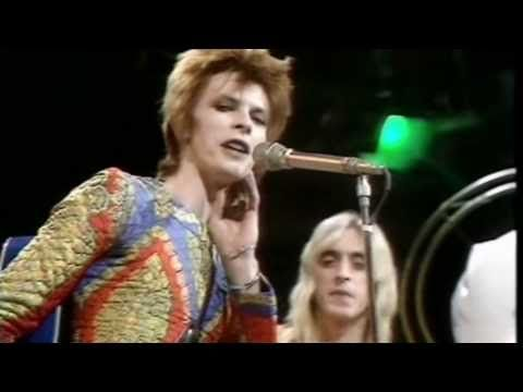 """He'd like to come and meet us, but he thinks he'd blow our minds"" - David (Ziggy Stardust) Bowie - Starman (1972)"