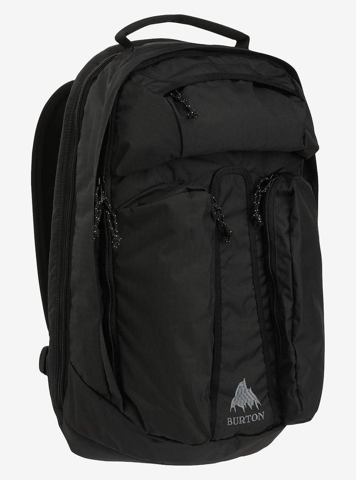 Burton Curbshark Backpack angezeigt in True Black Twill