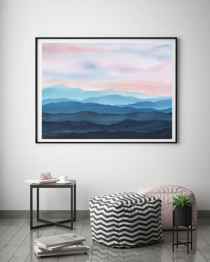 All Kinds Of Hairstyles For Women Best Trends Mountain Art Print Abstract Art Diy Abstract Art Landscape