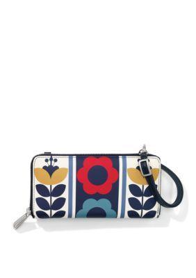 Brighton Women's Newberry Zip Wallet - Blue Multi - One Size