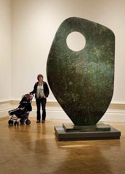 """Барбара Хепуорт, """"Одинокая форма"""", 1961 год"""