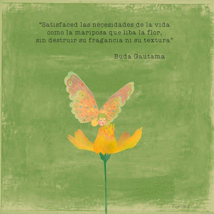 Eva Cruz. Mariposa que liba.