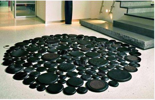 Pebble floor rug- Alana