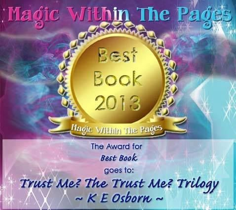 Best Book 2013! Magic Within The Pages Award
