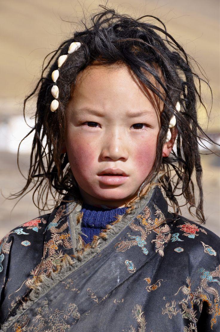Niño del Tíbet