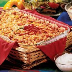 Got a potluck? You'll turn heads with this simple but tasty pinto bean casserole.