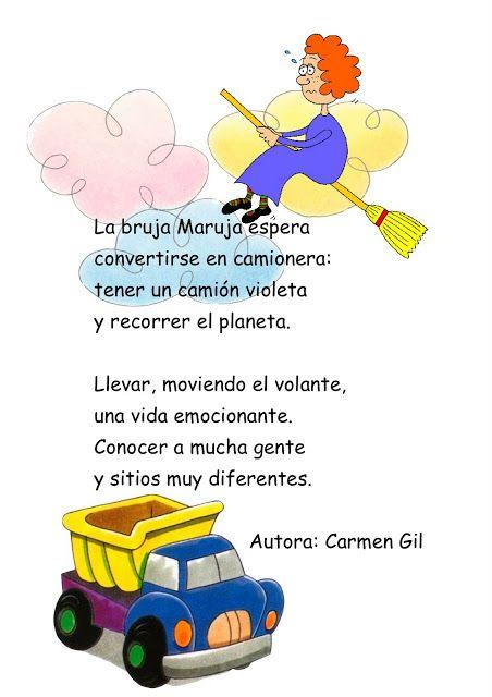 """La bruja Maruja"" POESÍA de Carmen Gil #learn #spanish"