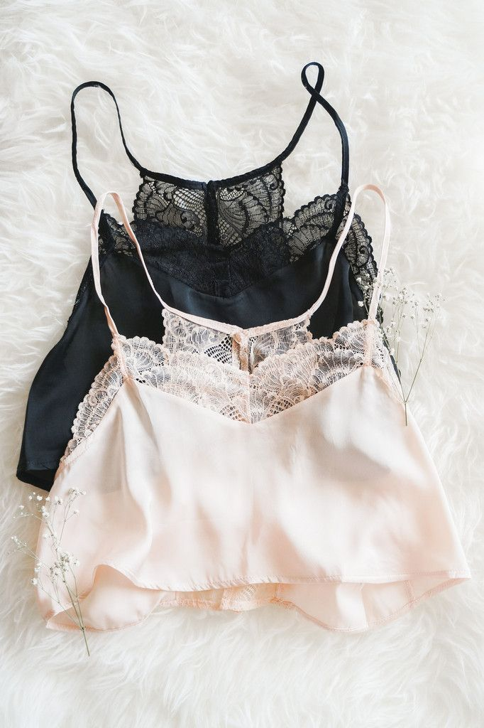 Delicate Lace Cami // www.shoplovestreet.com