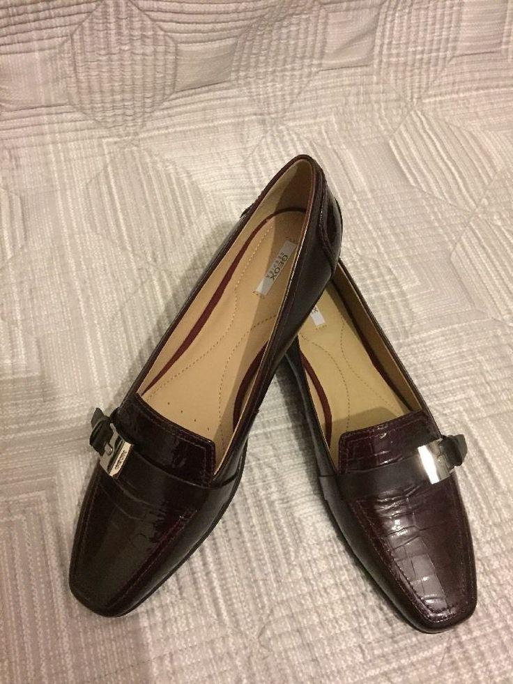 GEOX RESPIRA ladies shoes UK7-7.5 EU41 BNWOB RW