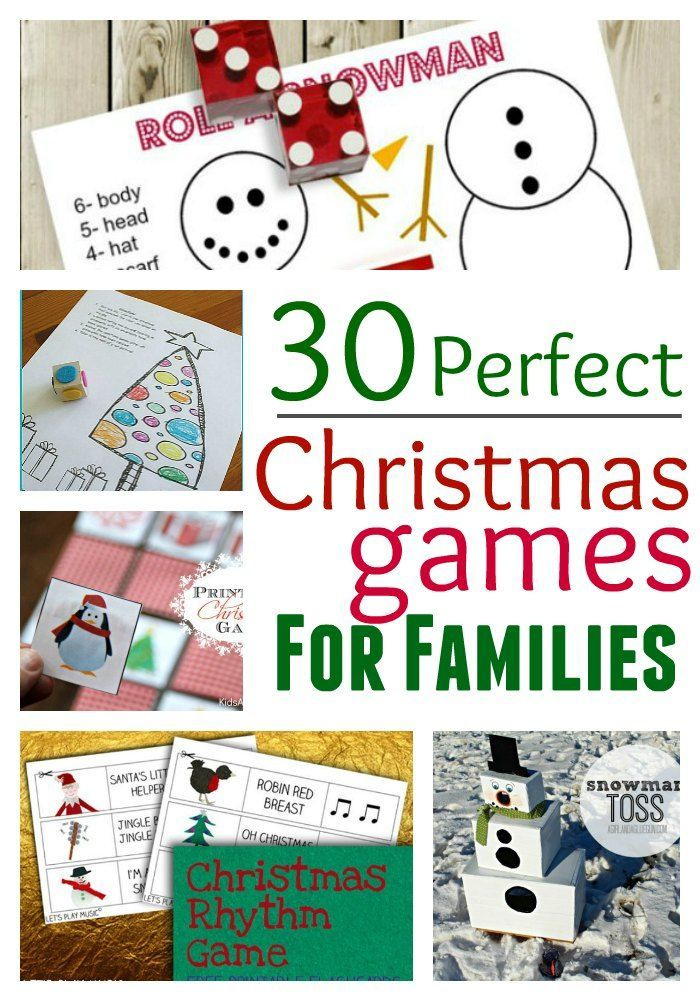 30 Perdect Christmas Games for Families
