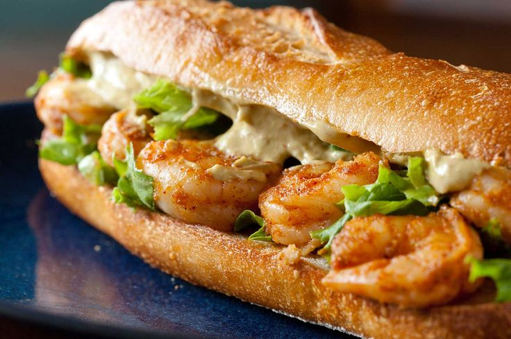 food pictures | Recipe for Spicy Shrimp Sandwich with Chipotle Avocado Mayonnaise at ...
