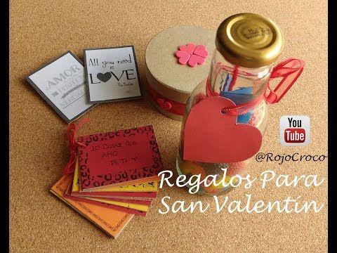 Regalos Para San Valentín DIY - YouTube