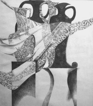 Drawing by Yelena Dyumin - www.dyuminart.com !!! @dyuminart #art #pencil #paper #draw #graphics
