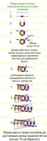 biCer.ru - boncuk ve borazan örgü boncuk şeması, yeni başlayanlar için dersler,