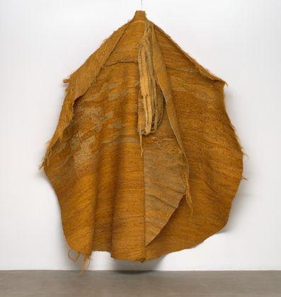 MoMA | The Collection | Magdalena Abakanowicz. Yellow Abakan. 1967-68
