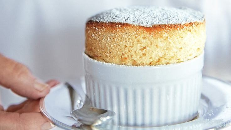 citrus season with individual dessert souffles made with tangerine ...