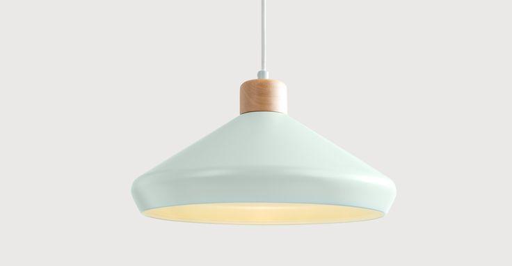 Albert Pendant Lamp, Duck Egg