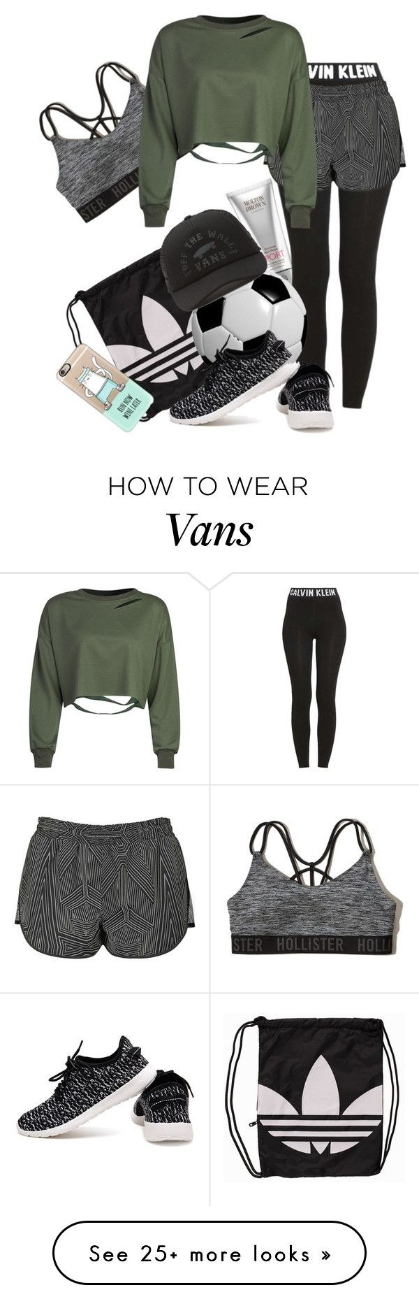 """Untitled #921"" by soosoali on Polyvore featuring Molton Brown, adidas Originals, Hollister Co., Calvin Klein, Topshop, WithChic, Vans and Casetify"