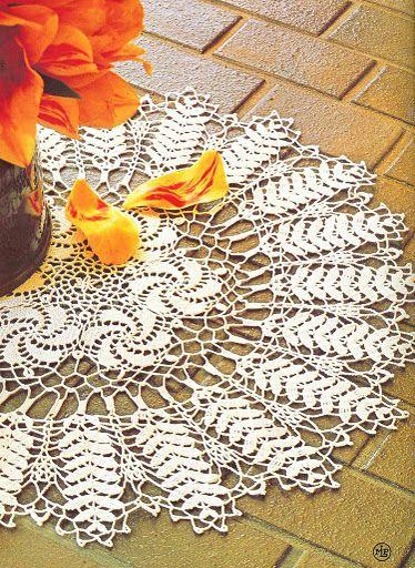 Lace napkins - Marianna Lara - Picasa Web Albums - Diagram