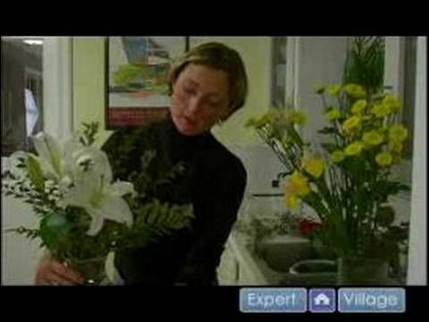 How to Make Flower Arrangements : Floral Design Tips & Techniques For Flower Arrangements
