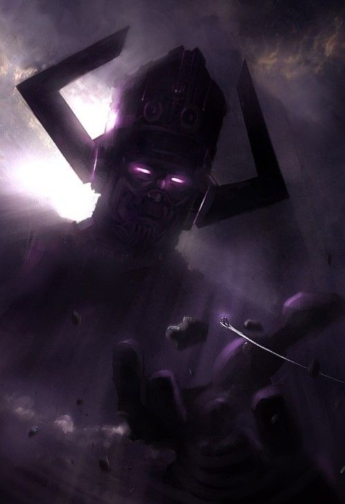 """""""It is my destiny to one day give back to the universe -- infinitely more than I have ever taken from it. Galactus"""