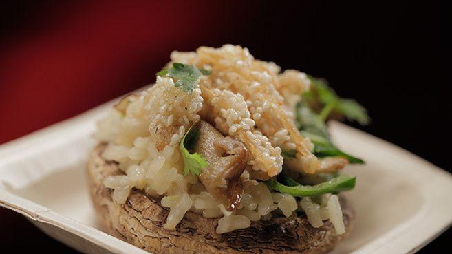 Asian Mushroom Risotto