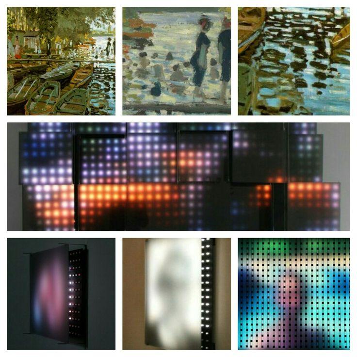 ¿Se puede copiar la técnica de los impresionistas 150 años después y convertirse en referencia del arte mundial? Jim Campbell lo ha hecho... y muy bien.  http://pabloortizdezarate.tumblr.com/post/123020627509/impresionismo-del-siglo-xxi-los-impresionistas