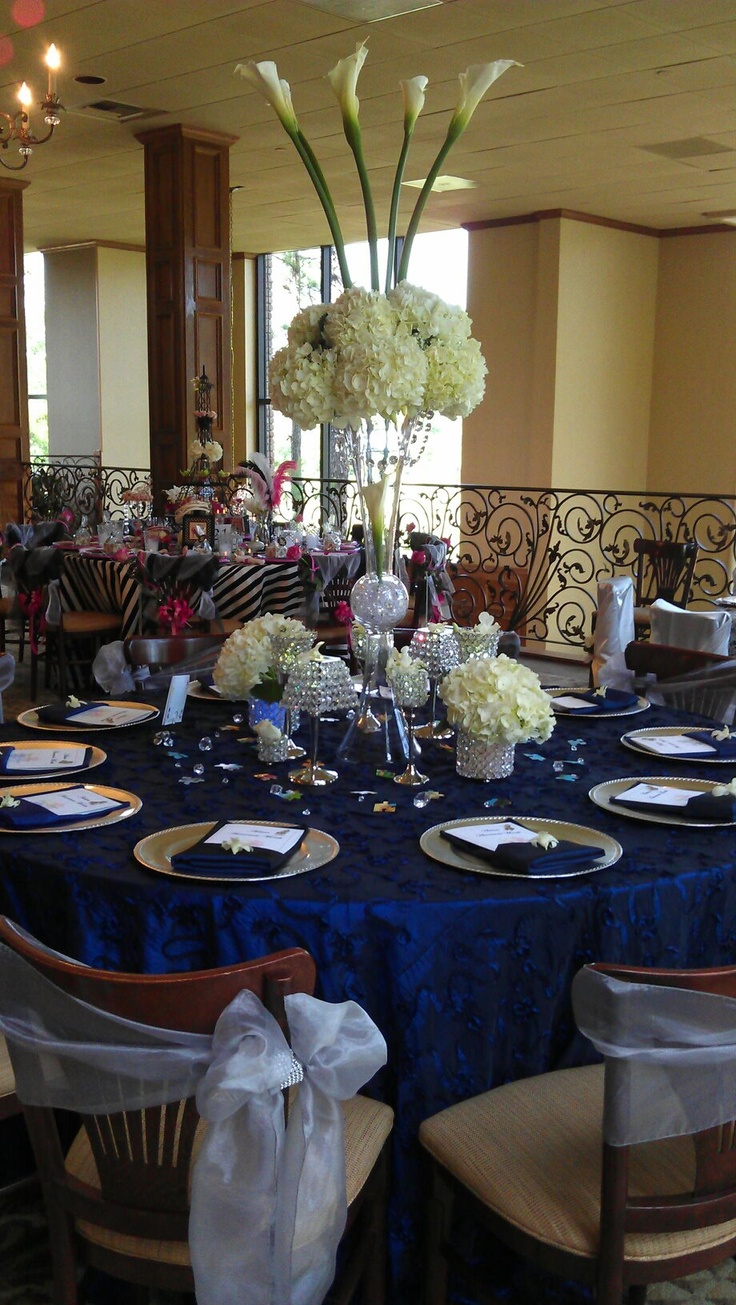 31 best centerpieces images on pinterest center pieces tall and elegant centerpieces with white hydrangeas jumbo calla lilies and lots of crystals seaside weddingnautical junglespirit Image collections