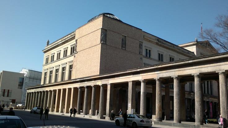 Museumsinsel, Wiederaufbau Neues Museum, David Chipperfield, März 2012