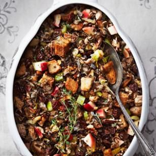 Looking for an awesome stuffing?? Try this amazing Wild Rice Stuffing with Apple & Sausage If you LIKED this like us here -->> https://www.facebook.com/TeamHealthyYou.fanpage