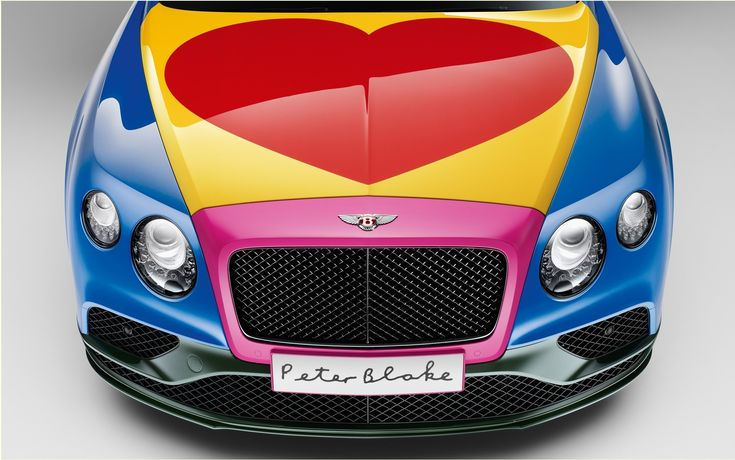 A Bentley Continental GT V8 S Convertible will be put to auction in order to reap money for a work of charity. It has been completely the comic by artist Sir Peter Blake.Bentley will be put to auction June 24 at the Goodwood Festival of Speed in England. This is Care2Save Charitable Trust organization that will receive the sale price of the vehicle.   #A Bentley Continental GT with unique colors #auto #autoes #car #cars guide #News #The Car Guide #the cars #vehicle