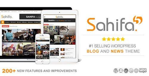 Sahifa – Responsive WordPress News, Magazine, Blog Theme Free Download
