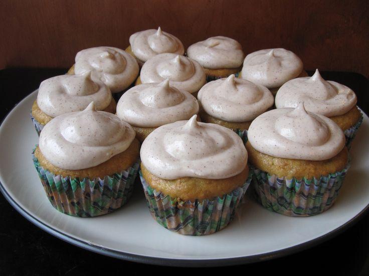 ... banana cupcakes pumpkin cupcakes freshman 15 cupcake cream cinnamon