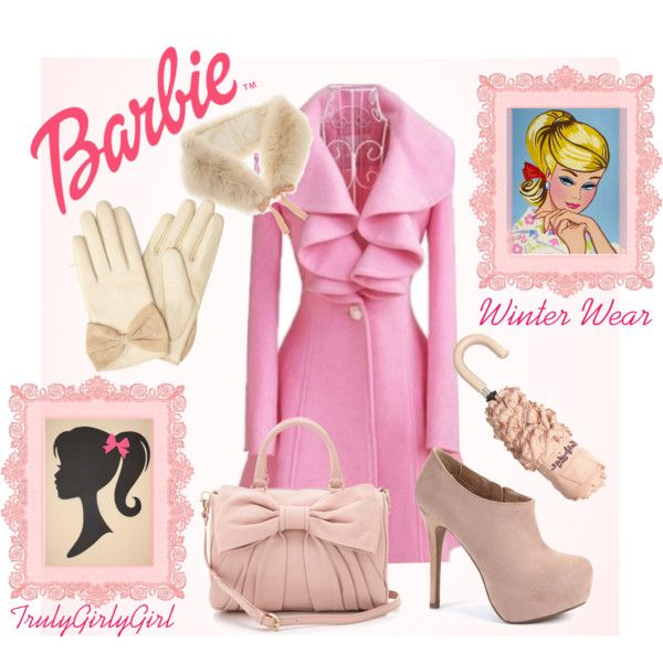 """Barbie: Winter Wear"" by trulygirlygirl on Polyvore"