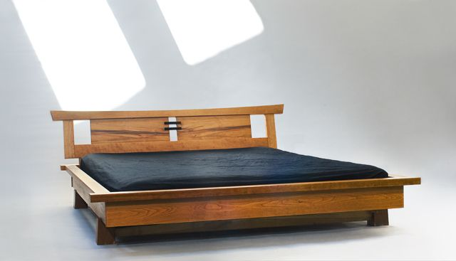 Robert Spangler Port Blakely Bed - note base - gravity mounted big timber