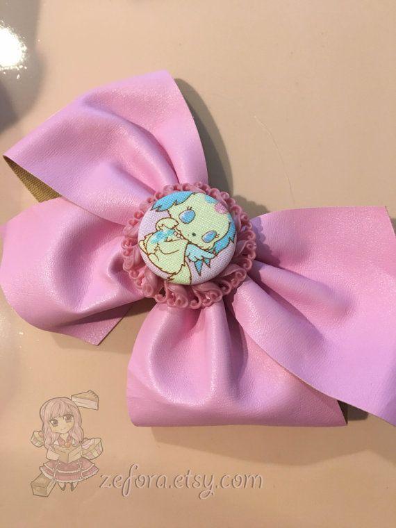 Big Jewelpets Sapphie Puppy Dog Pink Fake Leather Fairy by zefora