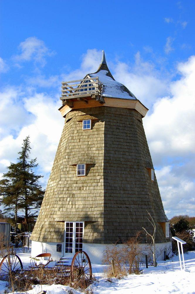 Alte Mühle im Winter von Robert Ott