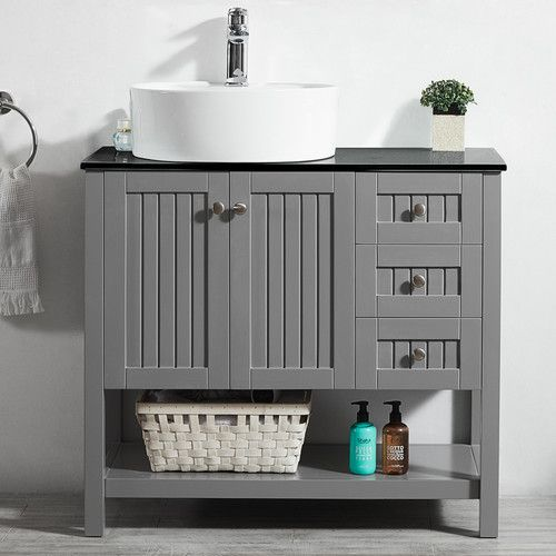 Found it at Wayfair  Modena 36 Single Bathroom Vanity Set Best 25 bathroom vanity ideas on Pinterest sink
