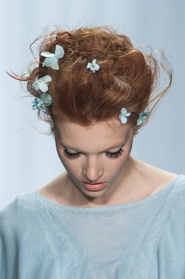 Hair Style/Zac Posen S/S 2014