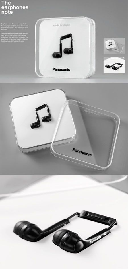 would buy for the creative marketing/ packaging alone     Panasonic