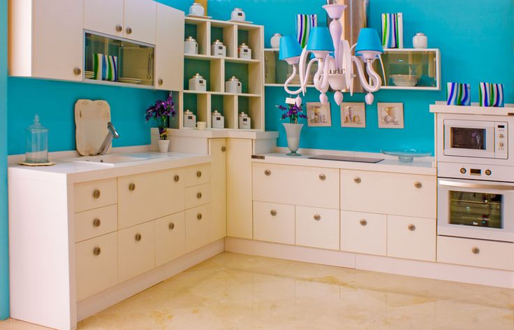 17 mejores ideas sobre paredes de color turquesa en - Pintar baldosas cocina ...