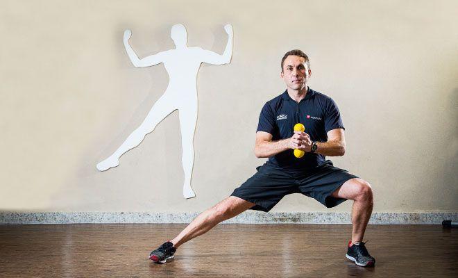 Passo a passo de um treino  para fortalecimento muscular e correção da postura do corredor. Confira o vídeo!