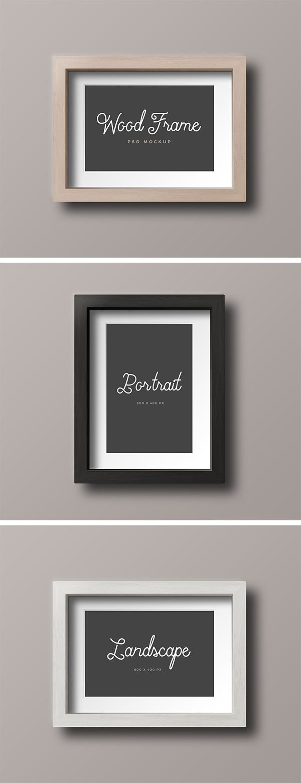Big thanks to Medialoot for sharing this awesome freebie with us.  Check out these simple wooden frame mock-ups and use them freely to showcase...