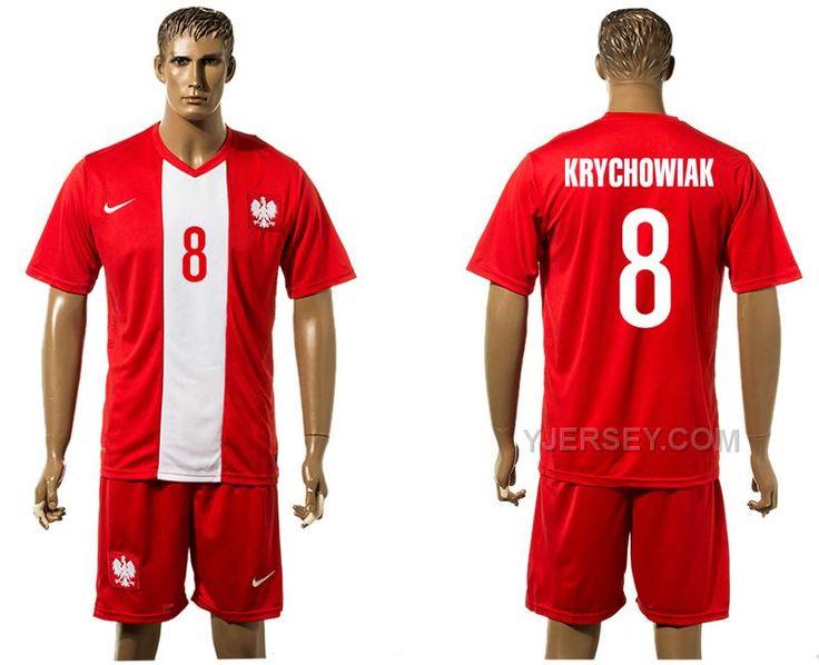 http://www.yjersey.com/poland-8-krychowiak-away-euro-2016-jersey.html Only$30.00 POLAND 8 KRYCHOWIAK AWAY EURO #2016 JERSEY Free Shipping!