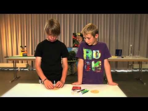 Sépare les différents colorants d'un marqueur à l'aide de la chromatographie | www.science.lu