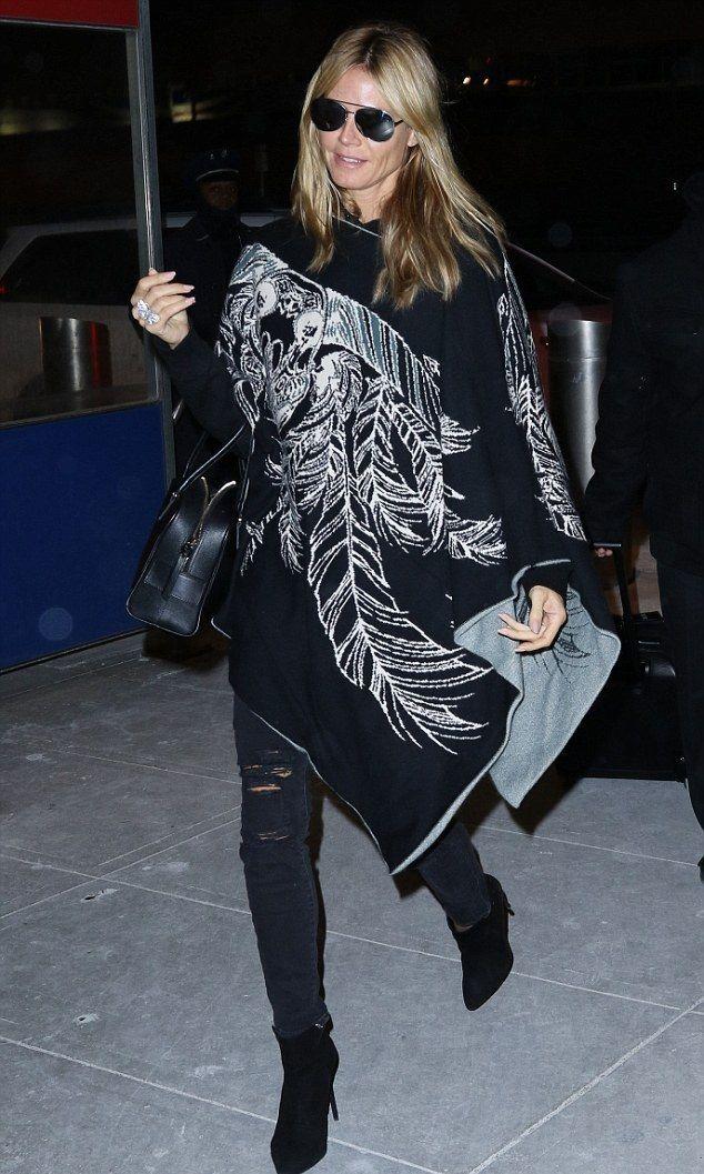 Heidi Klum wearing Paige Verdugo Jeans in Ramone Destructed